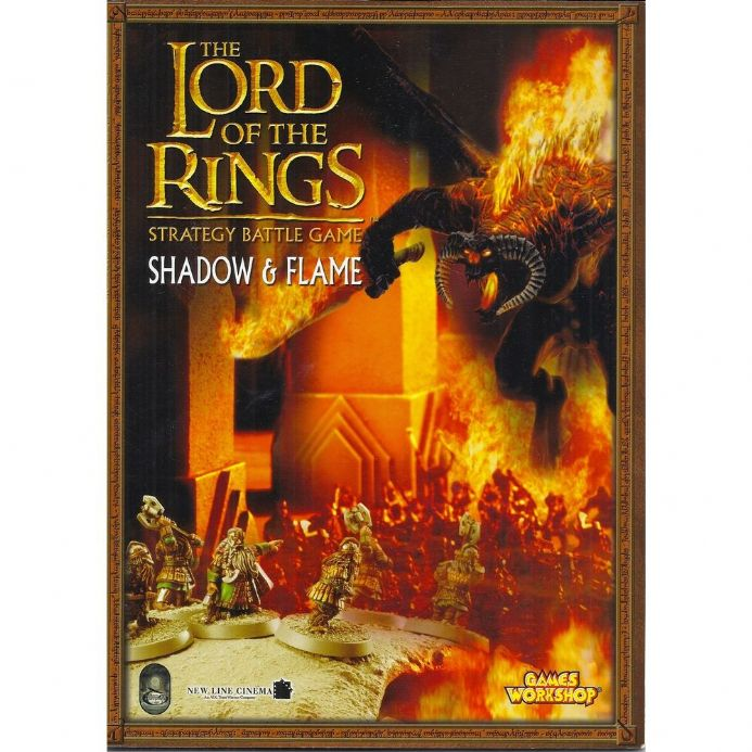 The Lord of the Rings Shadow & Flame rulebook 2003